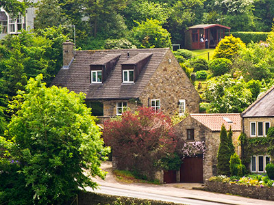 5 Star Castle View Holiday Cottage, Richmond, Yorkshire